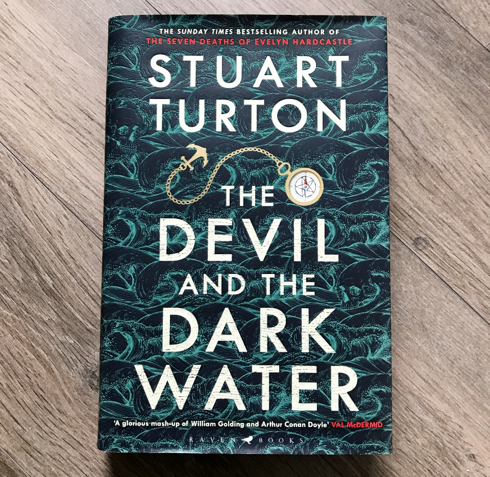 Hardback edition of Stuart Turton's The Devil and the Dark Water